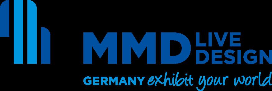 logo messebauer mmd münchen