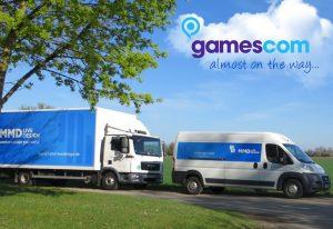 MMD livedesign Team Fahrt zur gamescom Messe